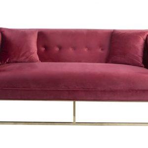 Canapé rose
